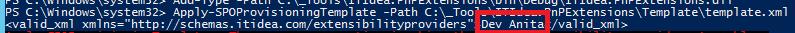 PnP Extensibility Handler - replaced token