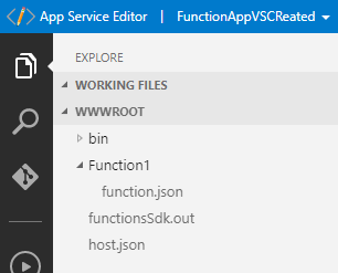 How to reference a file in Azure function? C# script function vs C#