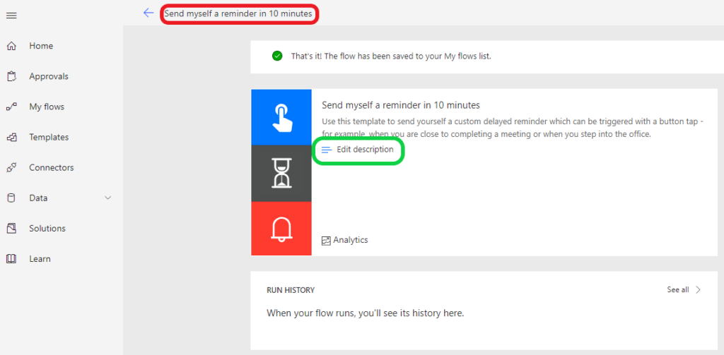 Rename an exsting Microsoft Flow | IT-Idea