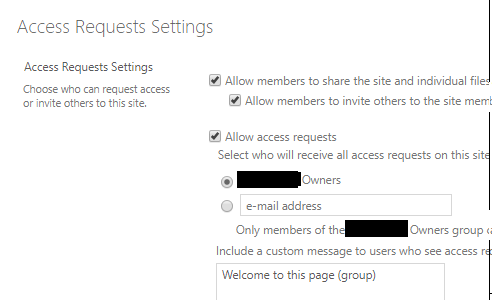 How to manage 'Allow access requests' with PowerShell – IT-Idea